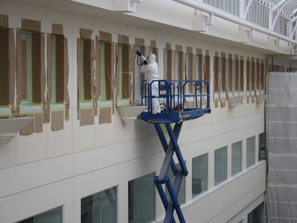 paint spraying refinishing