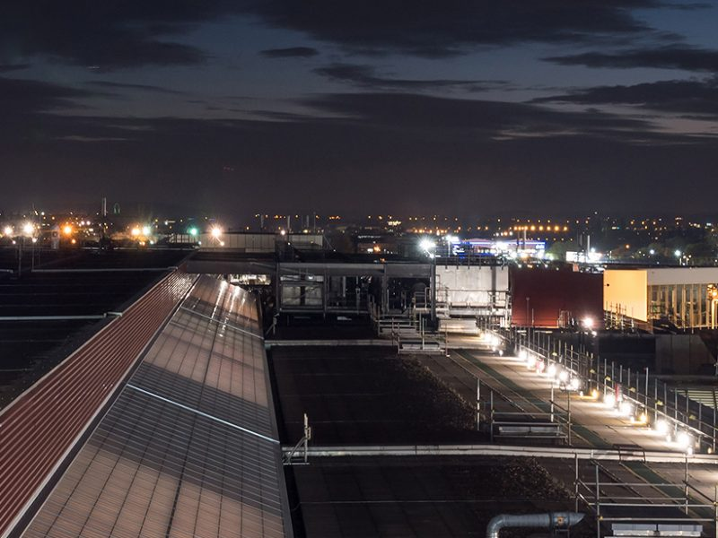 London Heathrow Airport Roof