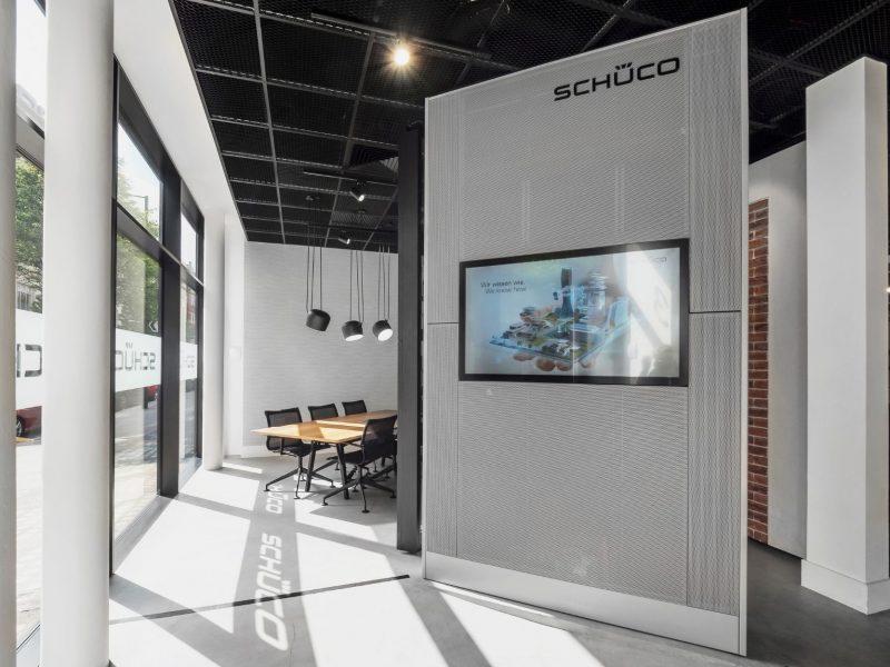 Schuco Showroom Interior